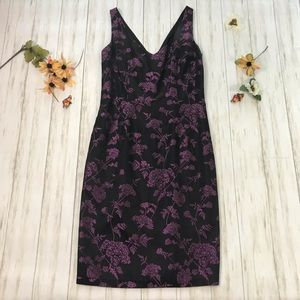 Maggy London sexy floral sheath dress sz. 4